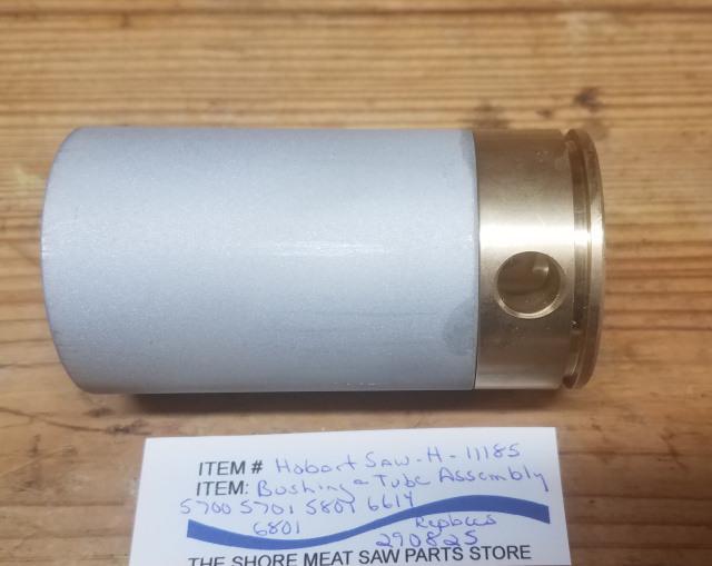 Bushing & Tube Assembly for Hobart 5700, 5701, 5801, 6614 & 6801 Meat Saws