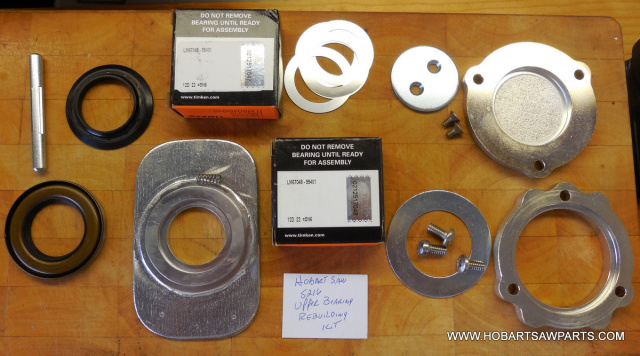 Upper Bearing Shaft Repair Kit for Hobart 5216 Meat Saws