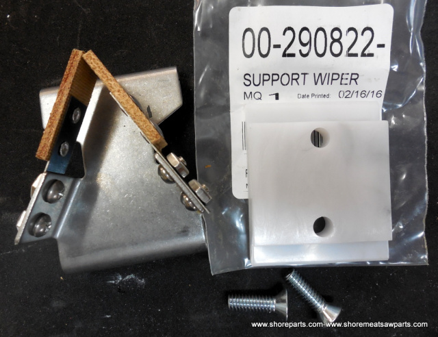 Wiper Support & Blade Assembly for Hobart 5700, 5701, 5801, 6614 & 6801 Saws