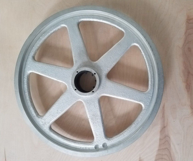Upper Saw Wheel for Hobart 6801 Meat Saws. Replaces ML-104999-0000Z