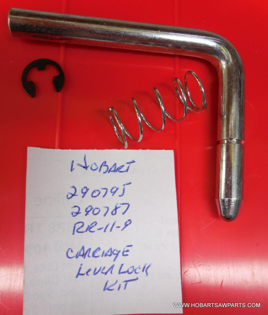 Carriage Lock Lever Kit for Hobart 5700, 5701, 5801, 6614 & 6801 Meat Saws