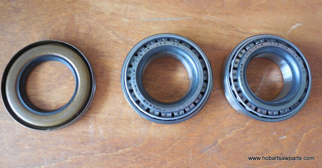 Upper Timken Bearings BR-2-27 & Shaft Seal 71403 For Hobart 5212 Saw