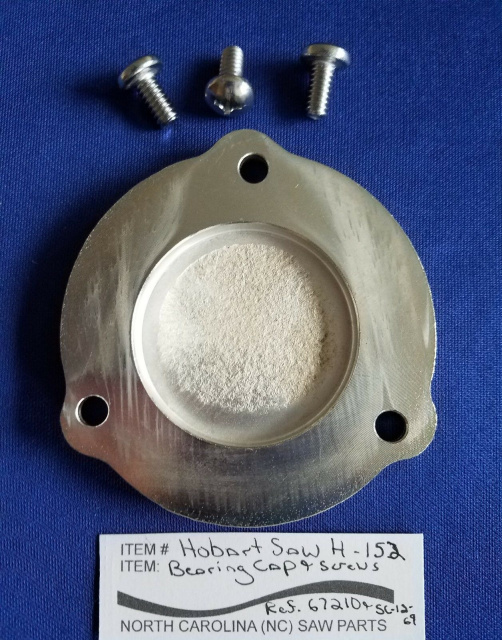 Bearing Cap For Hobart Meat Saw Models 5514 & 5516. Replaces #67210