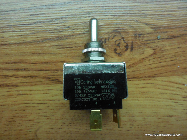 On-Off Switch #00-087711-148-1 for Hobart 2612, 2712, 2812 & 2912 Slicers