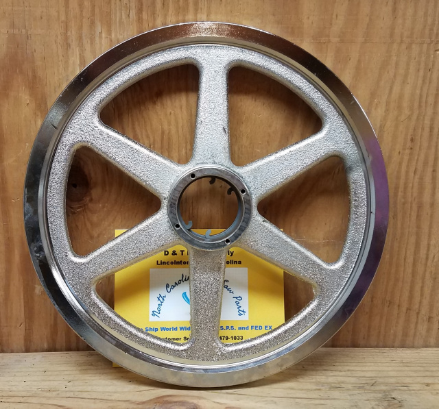 "14"" Upper Saw Wheel for Hobart 6614 Meat Saws. Replaces ML-103048-0000Z"