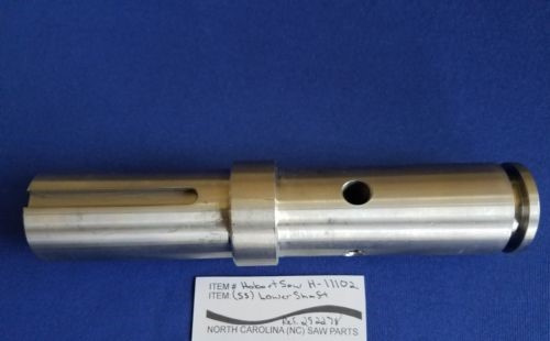 Lower Wheel Shaft for Hobart 6614 & 6801 Saws. Replaces 00-292278