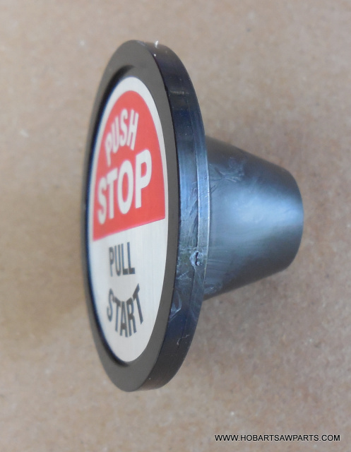 Start/Stop Switch w Label for Hobart 6614 Meat Saws. Replaces 290885