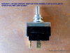 Momentary Switch for Hobart 5614 Saws. Replaces 120388