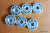 Table Saw Bearing Kit for Hobart 5514 & 5614. Has 6 BB-8-11 Bearings