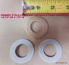 "HOBART STYLE #12 AUGER WASHER KIT ONE BRONZE WASHER & TWO FIBER WASHERS 1-5/16 OD X 3/4"" ID"