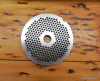 "GERMAN MADE HI CARBON LONG WEARING #12 1/8"" GRINDER PLATE"